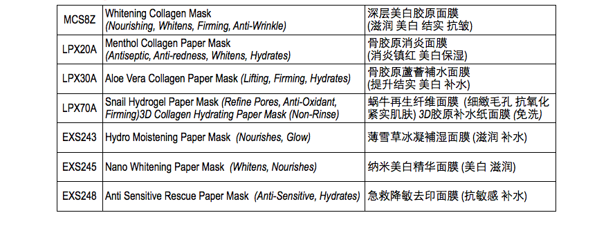 collagen-paper-mask-listing