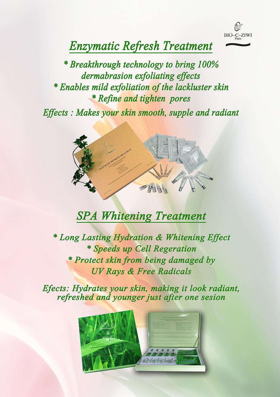 Enzymatic & Spa-Whitening-Treatment