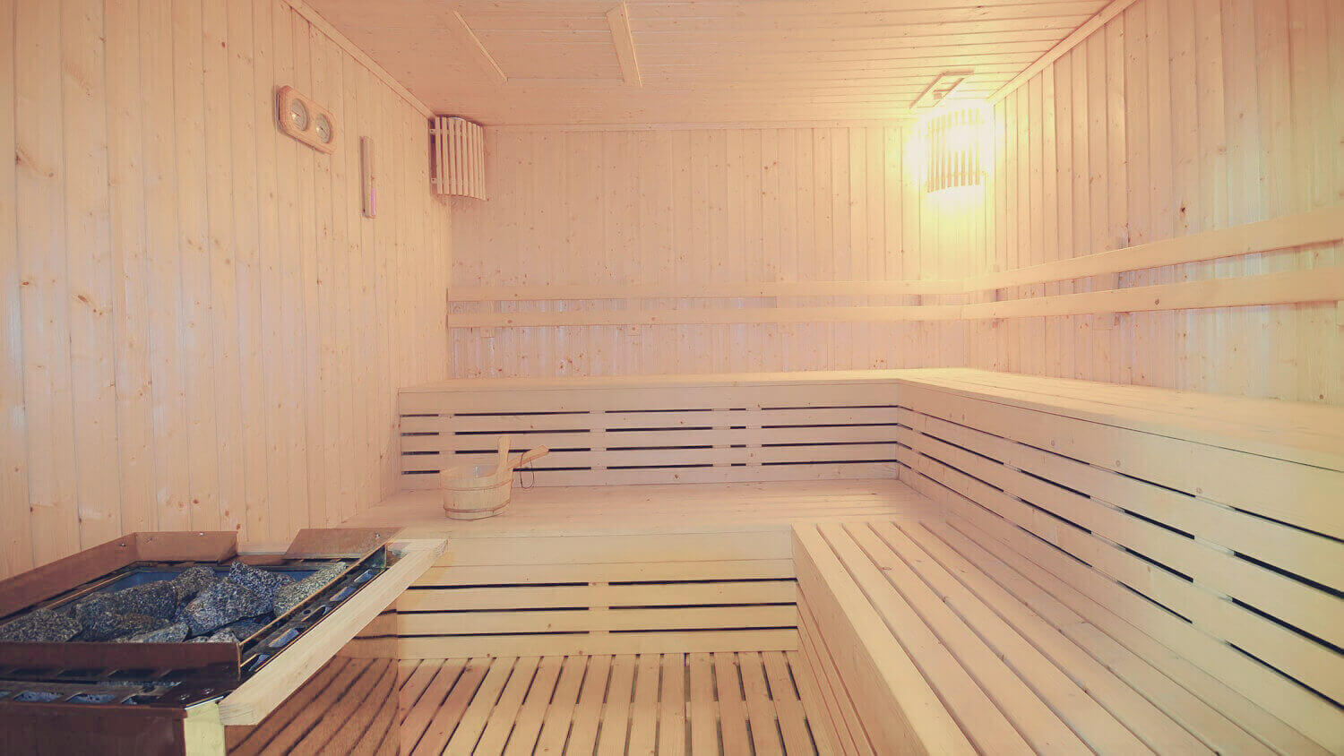 Sauna, Steam Bath and Jacuzzi System